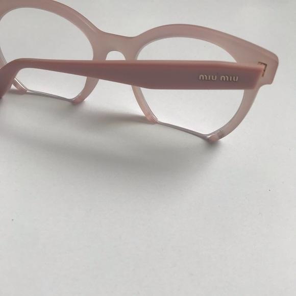 f0dbb462bae6 Miu Miu Accessories | Pink Frameless Glasses So Cute | Poshmark